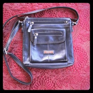 Croft and Barrow Black Leather Purse